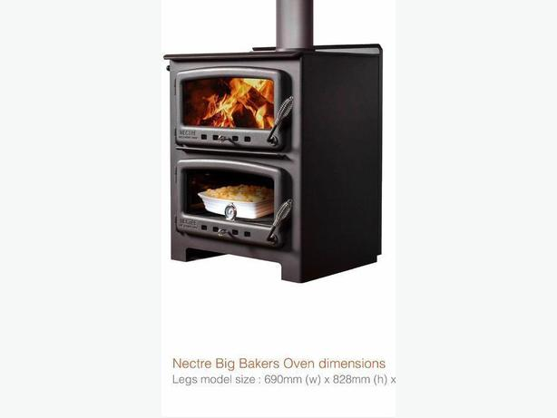 NECTRE BAKE OVEN and  WOOD STOVES