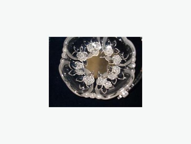 Walther glass crystal basket