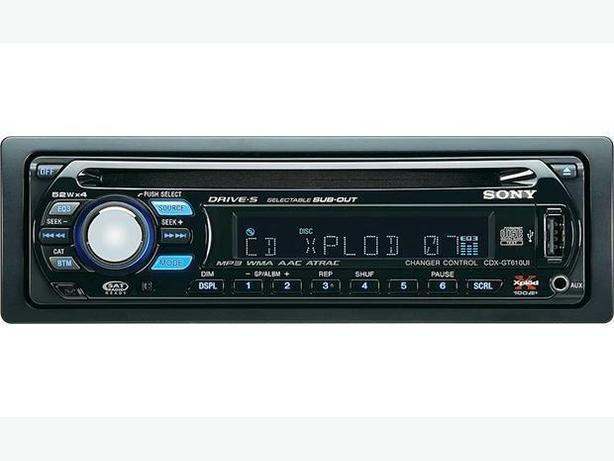 Sony CDX-GT610UI