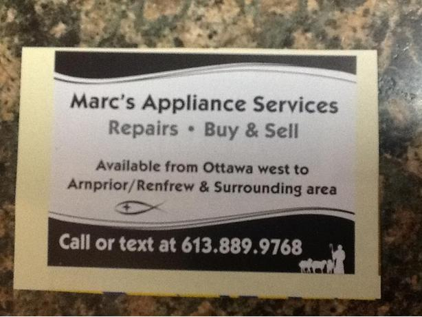 A-1 appliance repair and sales
