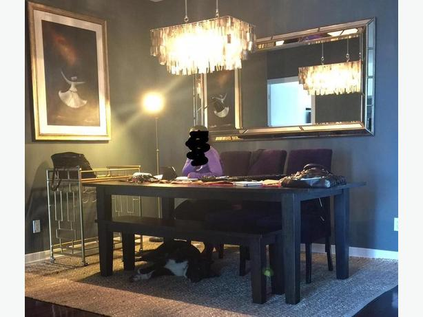 For Sale - Dining Table, Bench & Chairs - $900