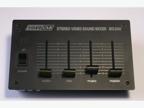 Video-Lab Stereo Video Sound Mixer