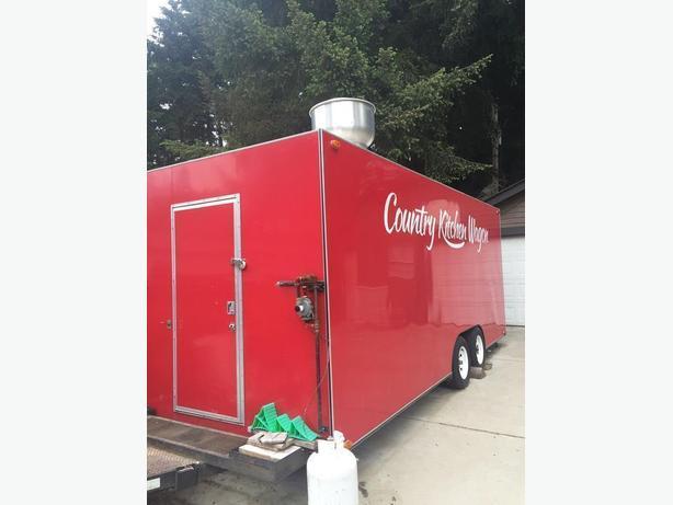 Certified mobile food trailer
