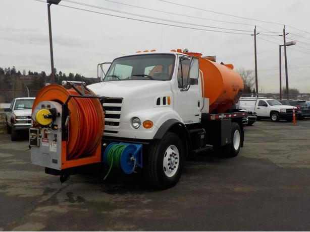 2002 Sterling L7500 Vactor RamJet F8015 Water Jetter Truck Diesel with Air Brake