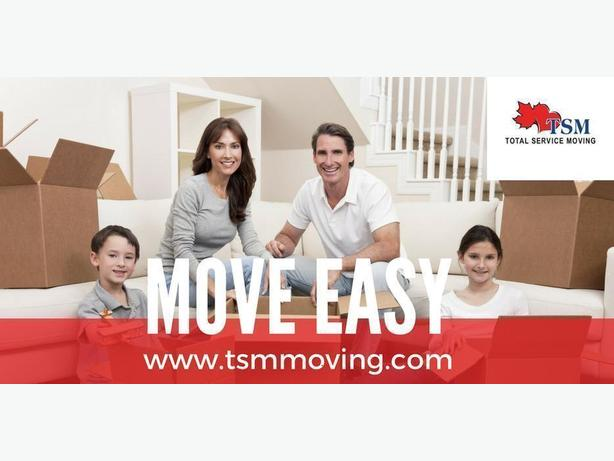 Affordable Quality Movers in Calgary - Starting at $119.95/hr