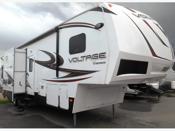 2014 Dutchmen Voltage V Series 3305 Toy Hauler