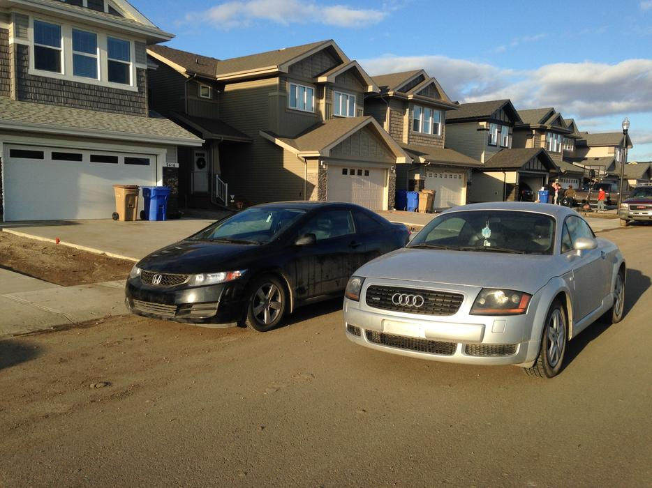 Audi Tt Quattro And Honda Civic Obo Sale East Regina