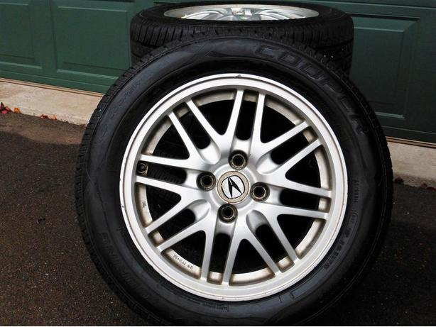 Sport Tires on Aluminium Rims 185/60-R15