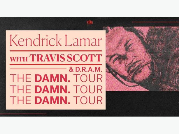 KENDRICK LAMAR W/ TRAVIS SCOTT *Lower Bowl*