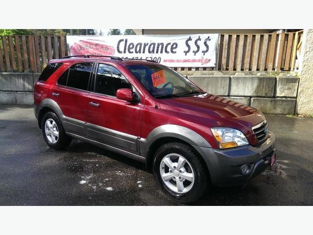 2008 KIa Sorento 4wd auto leather/sunroof-on Sale $5964!