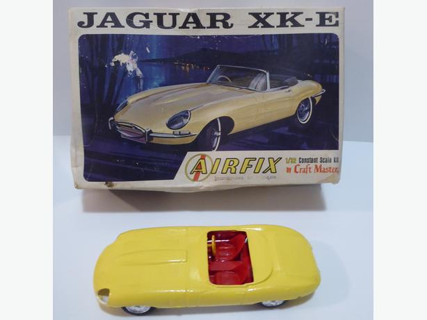 2 VINTAGE MODEL KITS -- JAGUAR OR PHANTOM II NAVY PLANE -- $15.00 EACH
