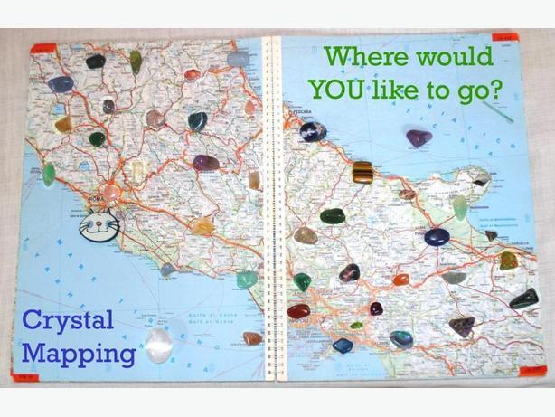 Looking for Direction in Life? – Free Crystal Mapping Session