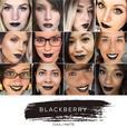 Blackberry Lipsense lipstick