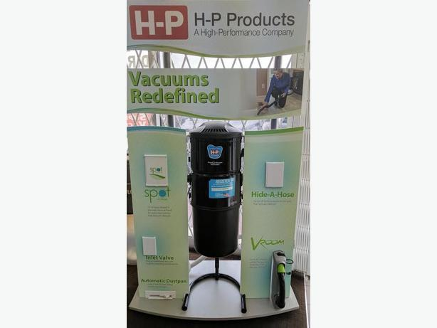 SPECIALS ON H-P PRODUCTS CENTRAL VACUUMS