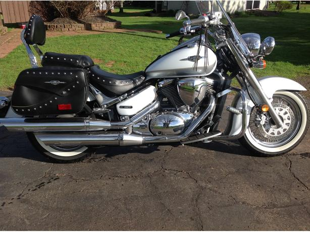 Motorcycle boulavard