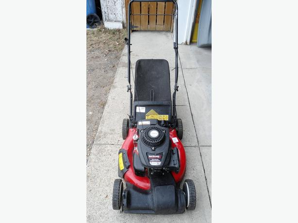 YARD MACHINES SELF PROPELLED LAWN MOWER