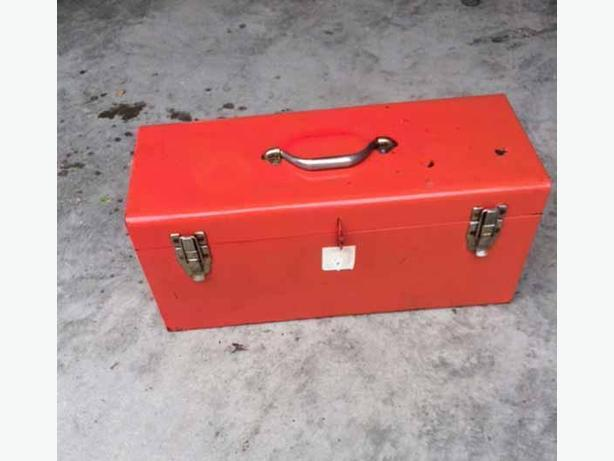 Larger metal tool box