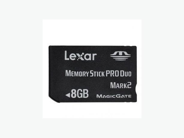 Lexar Platinum II 8GB Memory Stick Pro Duo Flash Memory Card