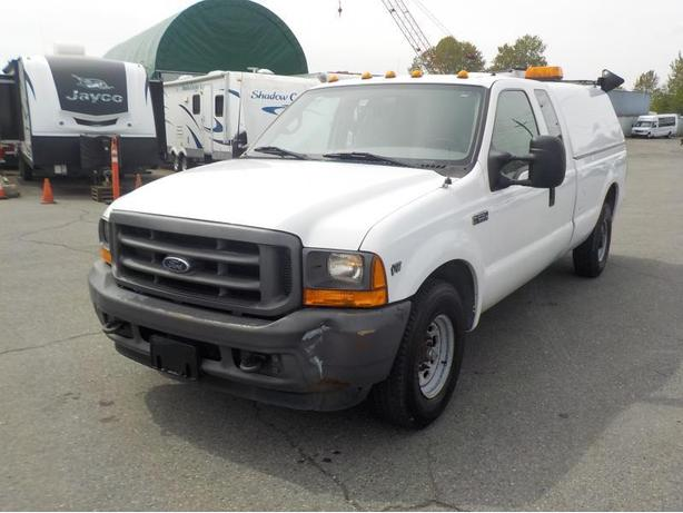 2001 ford f 250 sd xl supercab long box 2wd with canopy outside metro vancouver vancouver. Black Bedroom Furniture Sets. Home Design Ideas