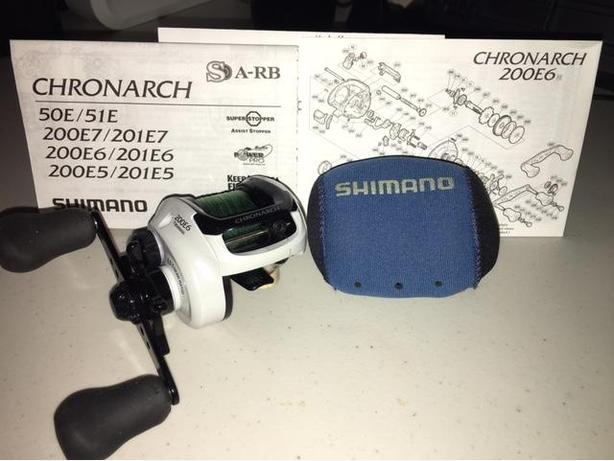 FS Mint Condition Shimano CHRONARCH 200E6