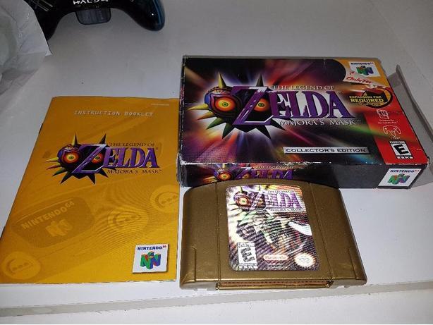 Zelda majoras mask complete in box