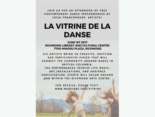 FREE: First francophone dance showcase - Northern and Western Canada