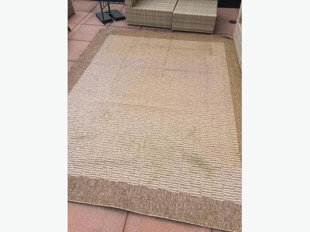"FREE: 7'10"" X 10'4"" Outdoor Rugs (2)"