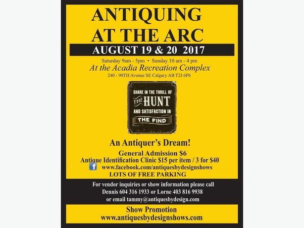 ANTIQUING at the ARC