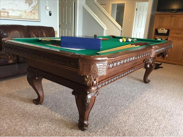 Pool Table Outside Victoria Victoria - Thomas aaron pool table