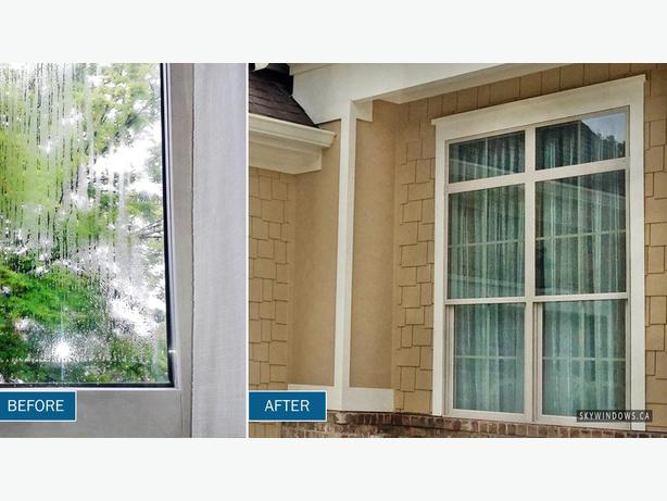 Broken Window Seal and Fogged Glass Repairs