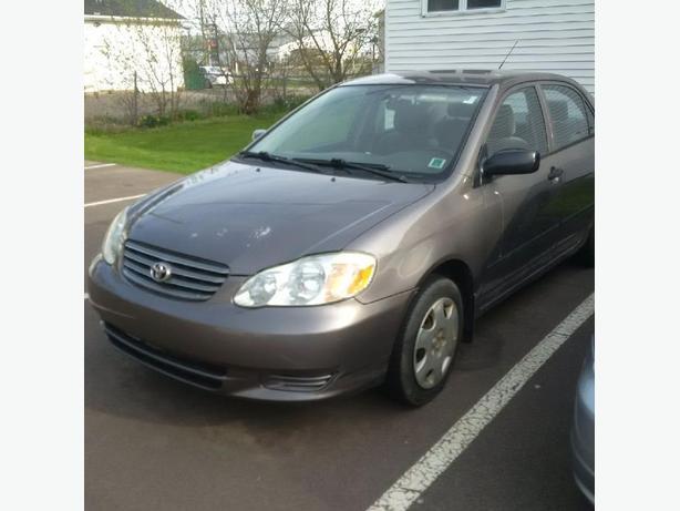2003 Toyota Corolla CE Inspected, Good Shape