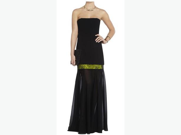 BCBGMAXAZRIA Jamysen Strapless Gown Size 8 (MSRP $582)