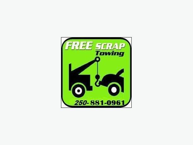 FREE SCRAP CAR REMOVAL 250-881-0961 $$$$ cars,trucks,vans,suvs speedy, same day