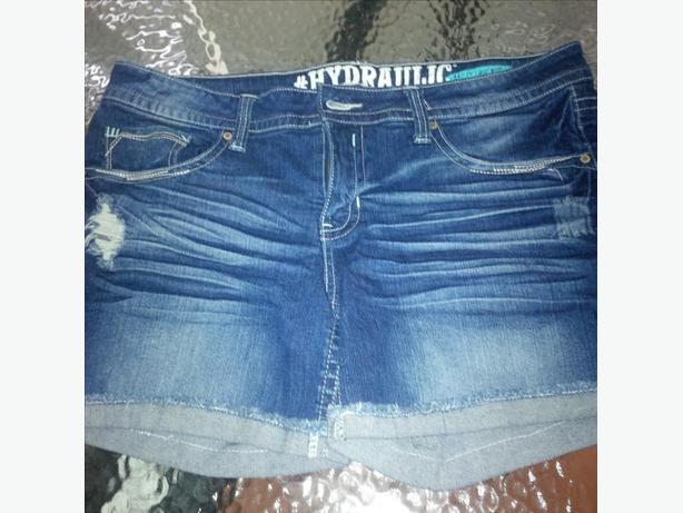 hydrolic jean shorts size 15/16