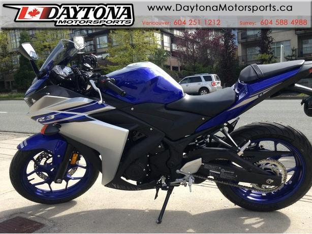 * SOLD * 2016 Yamaha YZF-R3 * It's time to ride. Get your R3 now ! *