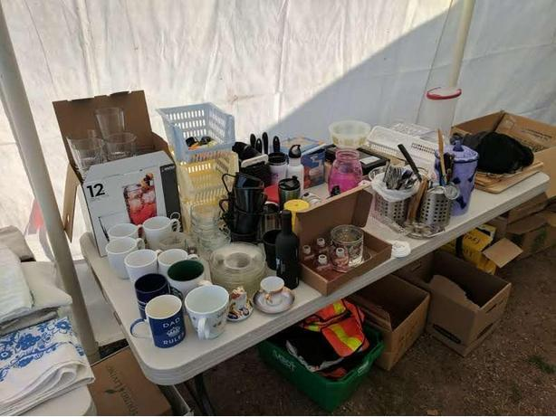 RURAL Multi-Family Garage Sale