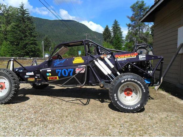 long travel -Sportsman Class Baja Buggy -