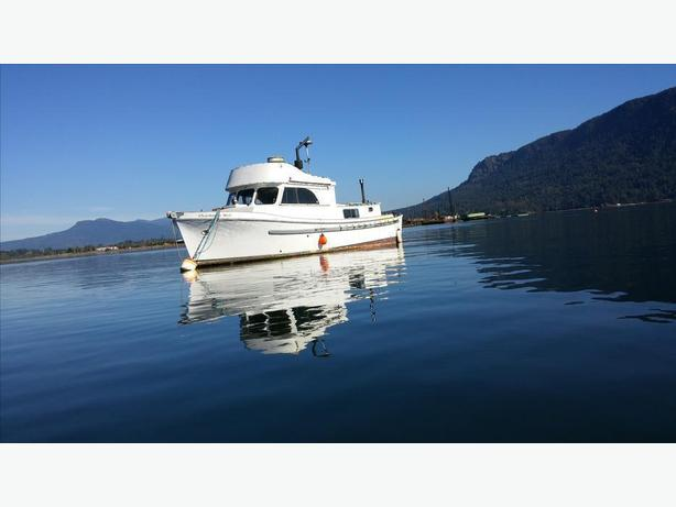 West Coast Pelagic converted trawler