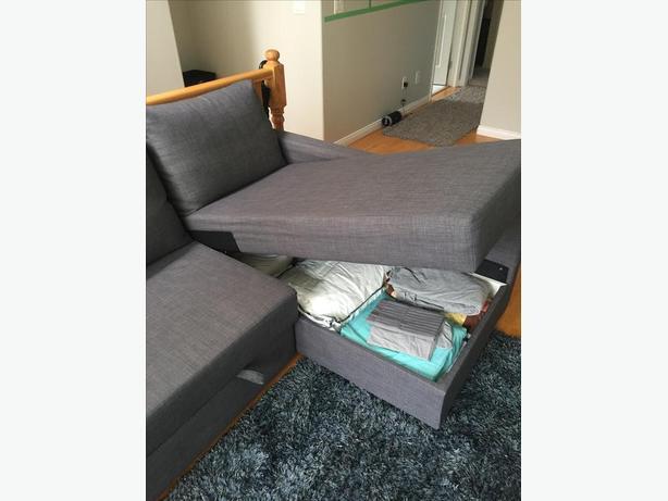 IKEA 'Friheten' Sectional Sofa Bed - $750 OBO