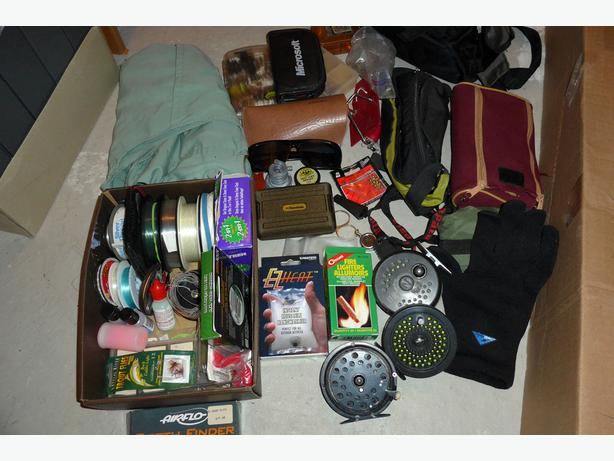 Fly Fishing gear and flys