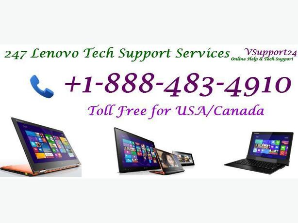 Contact +1-888-483-4910 for Lenovo Tech Support