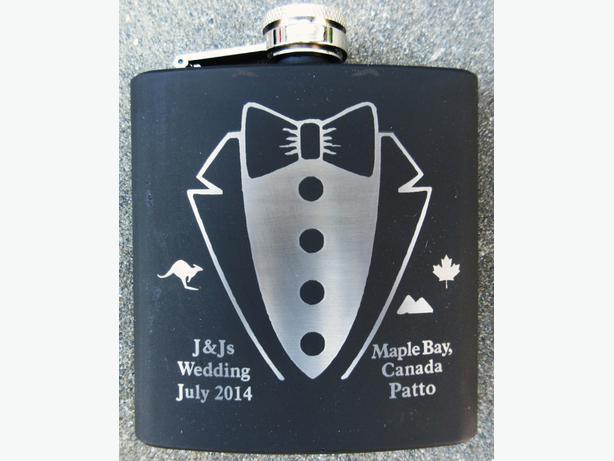 Groomsmen Wedding Gift Flasks