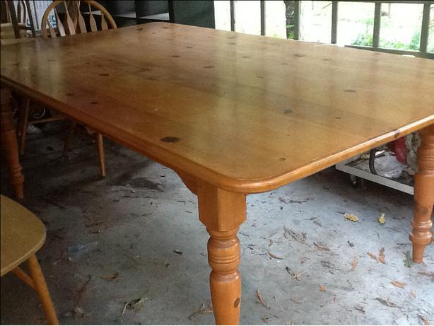 large country/harvest  farm table.
