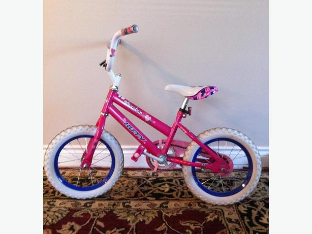 "Girls 14"" Huffy Bike"