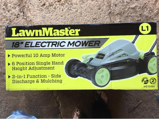 New electric lawnmower