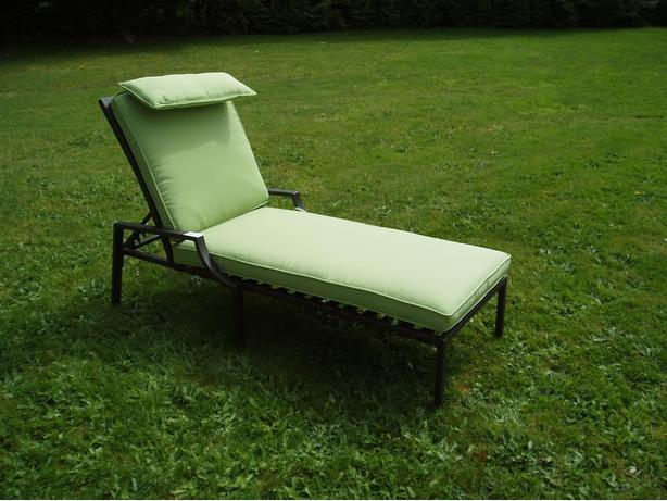Patio lounger chair