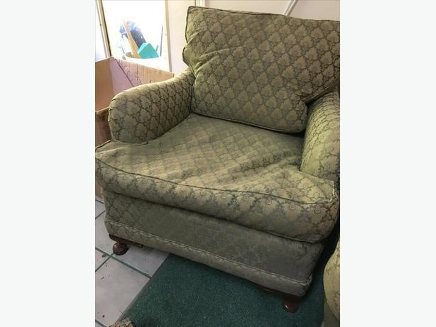 Antique 1930's Couch & Chair