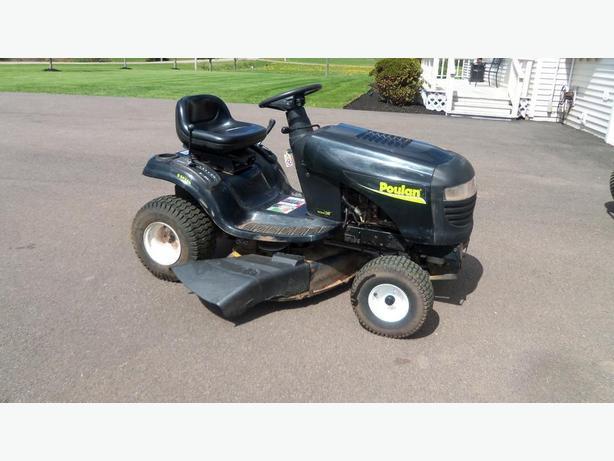 poulan  lawn mower