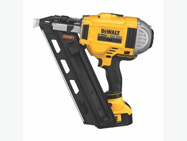 dewalt 20v framing nailer kit