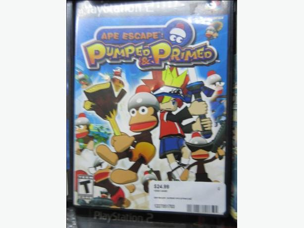 APE ESCAPE: PUMPED AND PRIMED PS2